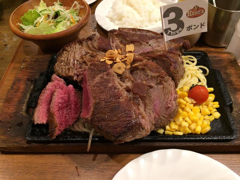 48オンスのステーキ