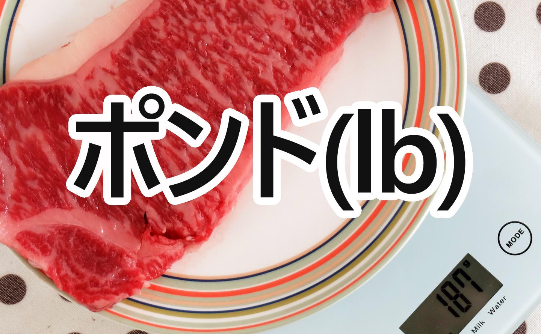ステーキのポンド(lb)ごとの写真比較とカロリー等の栄養成分まとめ
