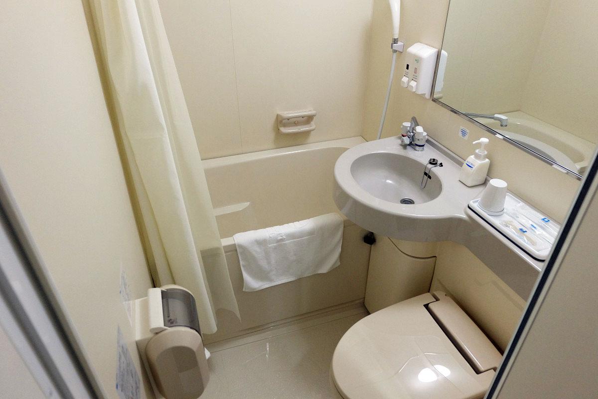 ダブルエコノミー 13.2平米 バスルーム