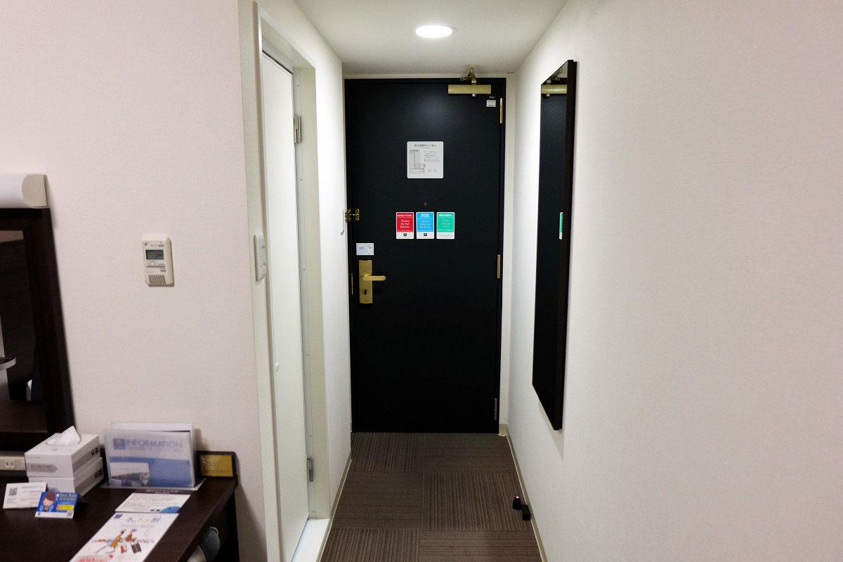ダブルエコノミー 13.2平米 ドア側