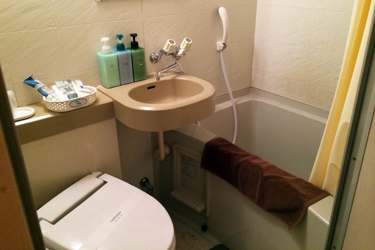 洋室シングル 13.5平米 バスルーム