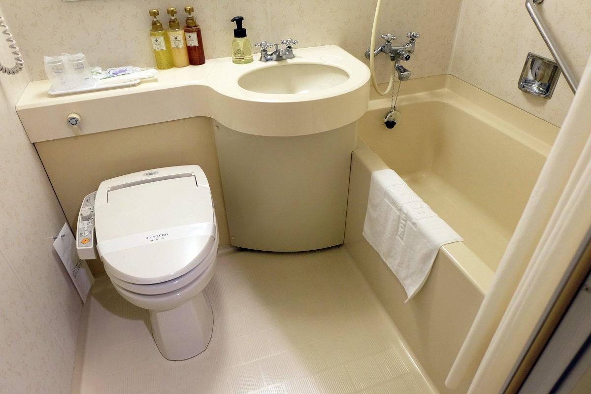 シングル 13平米 バスルーム
