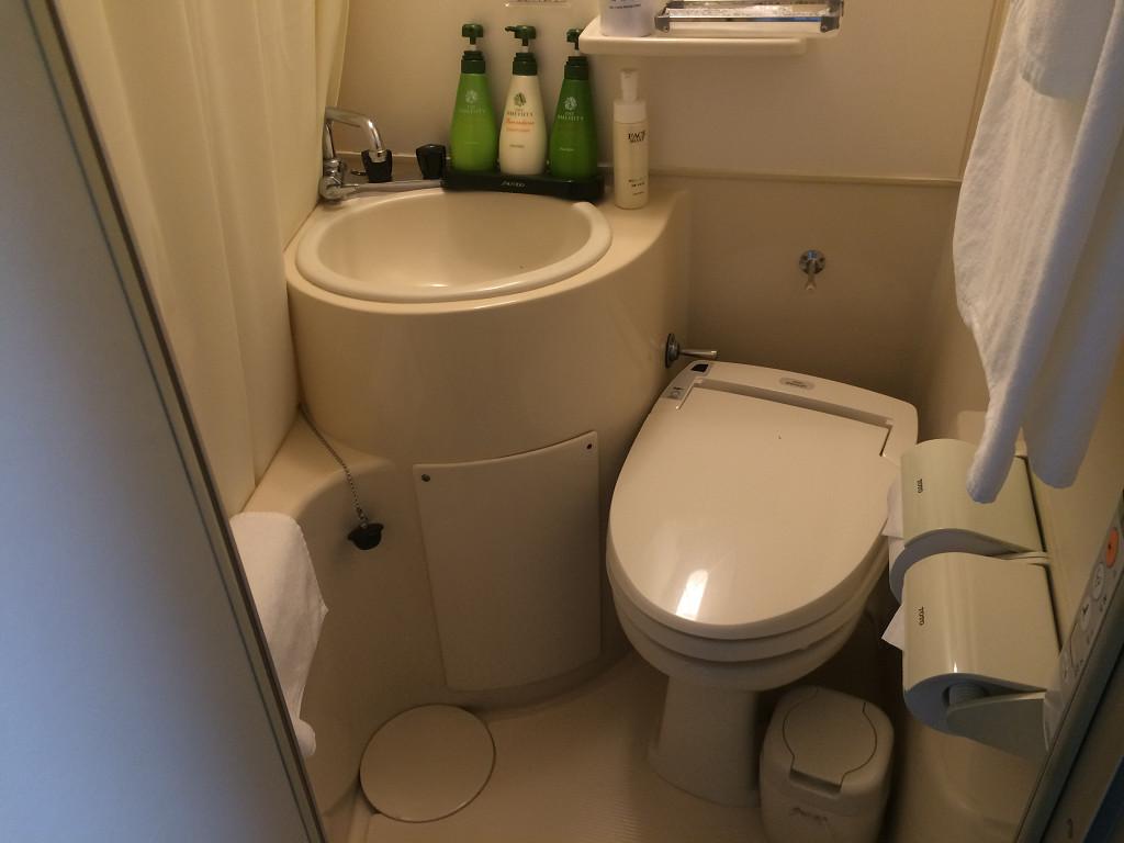 ホテル 大阪屋 エコノミーシングル バスルーム