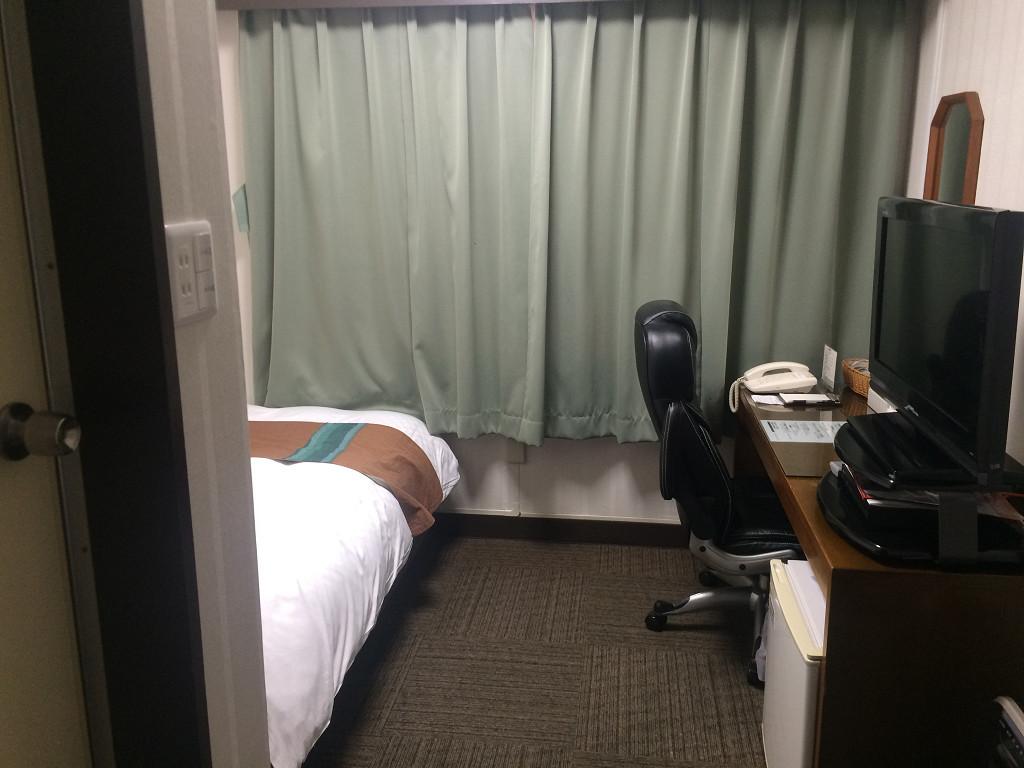 ホテル 大阪屋 エコノミーシングル 15平米(2015年11月)