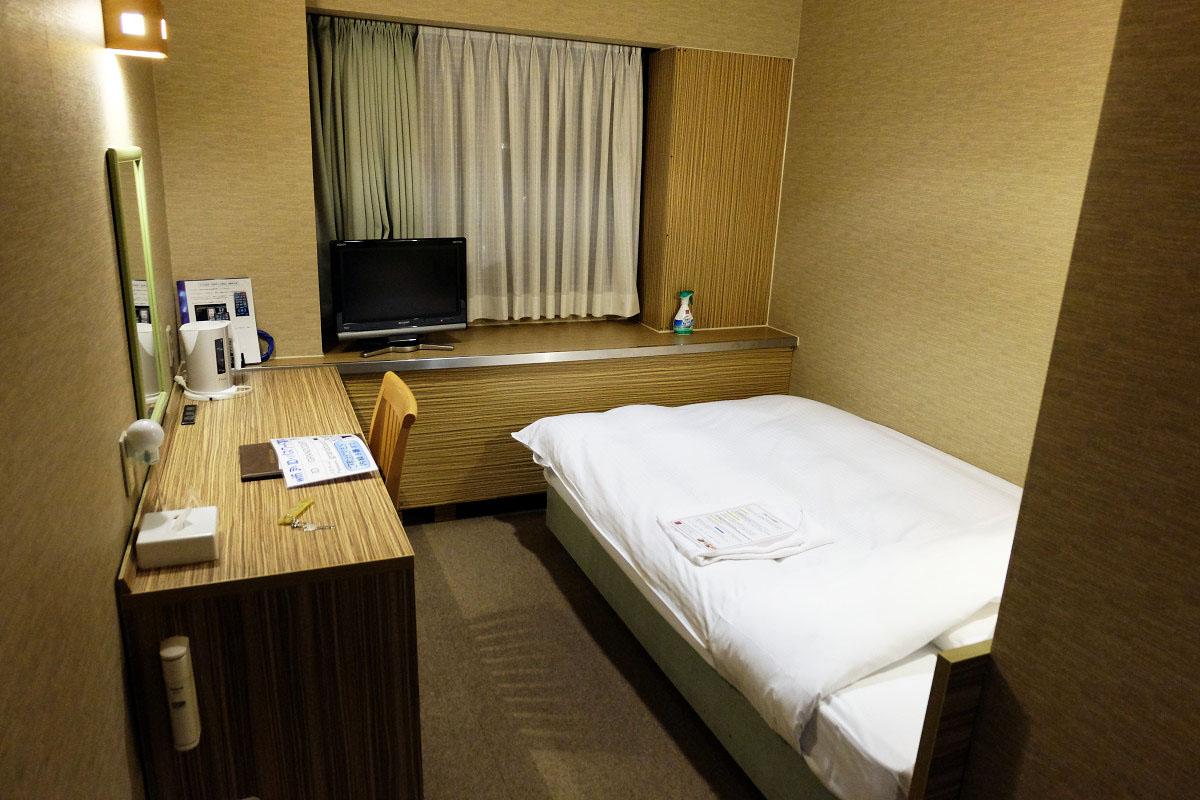 ホテル ザ・グランコート津西 スタンダードシングル 15平米