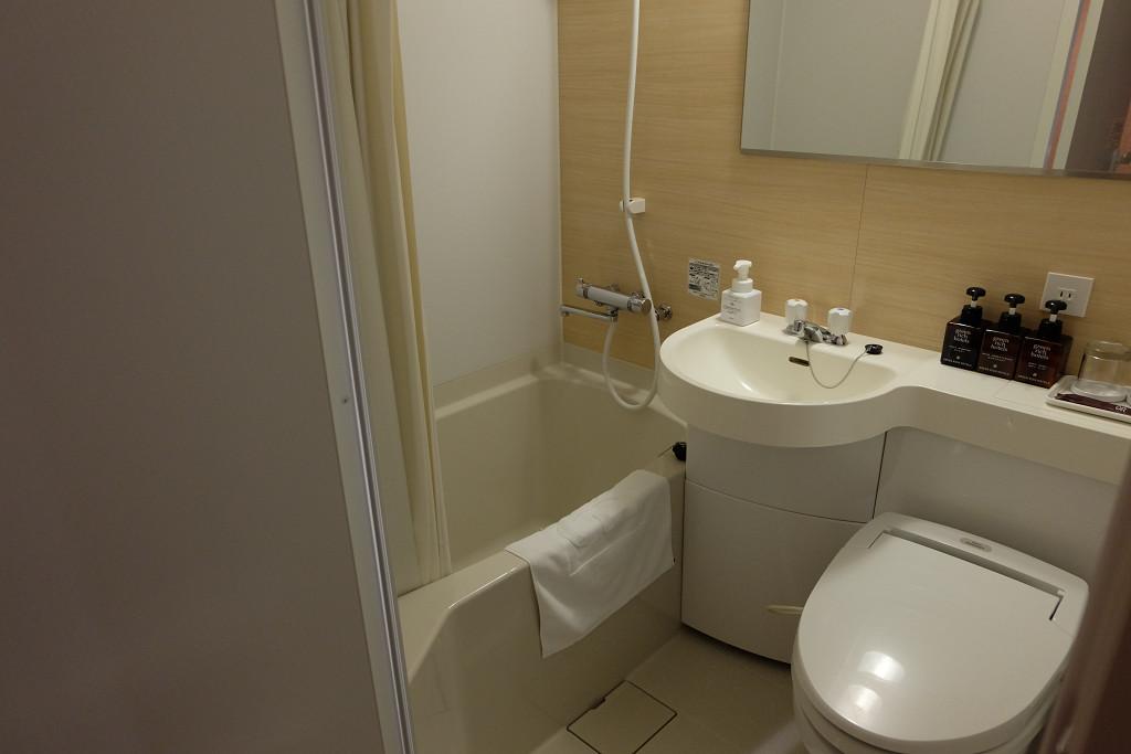 グリーンリッチホテル出雲 シングル バスルーム