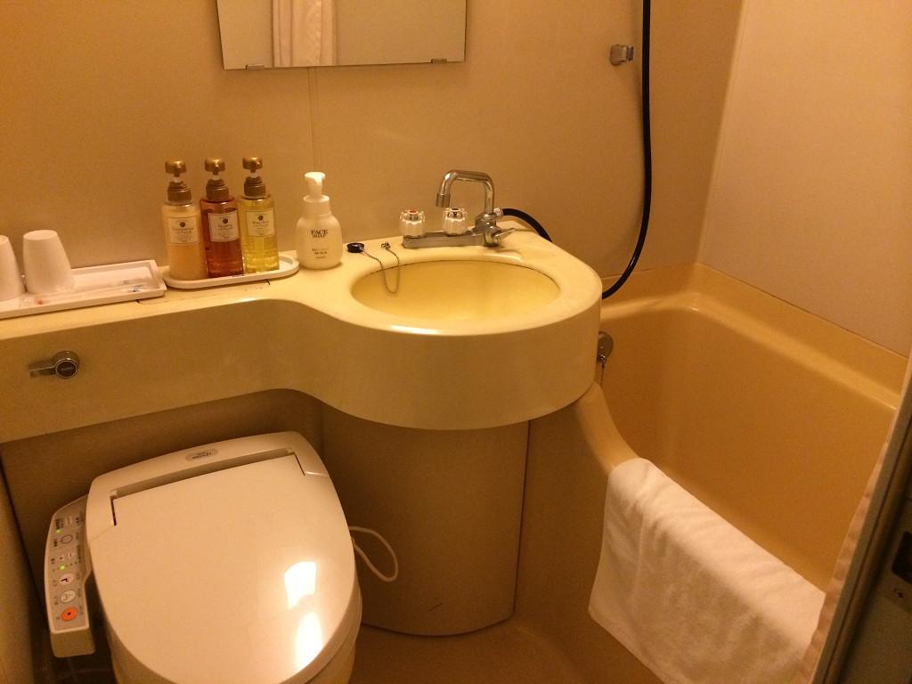 小倉ベイホテル第一 エコノミールーム バスルーム