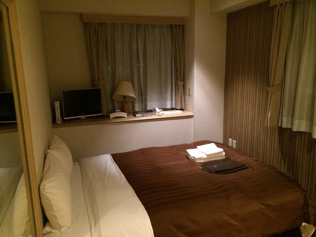 小倉ベイホテル第一 エコノミールーム 16平米(2014年8月)