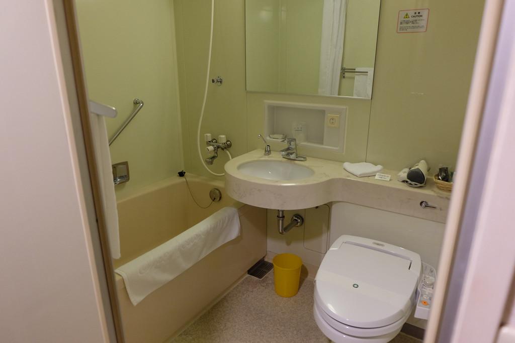 ホテルニューオータニ鳥取 シングル バスルーム
