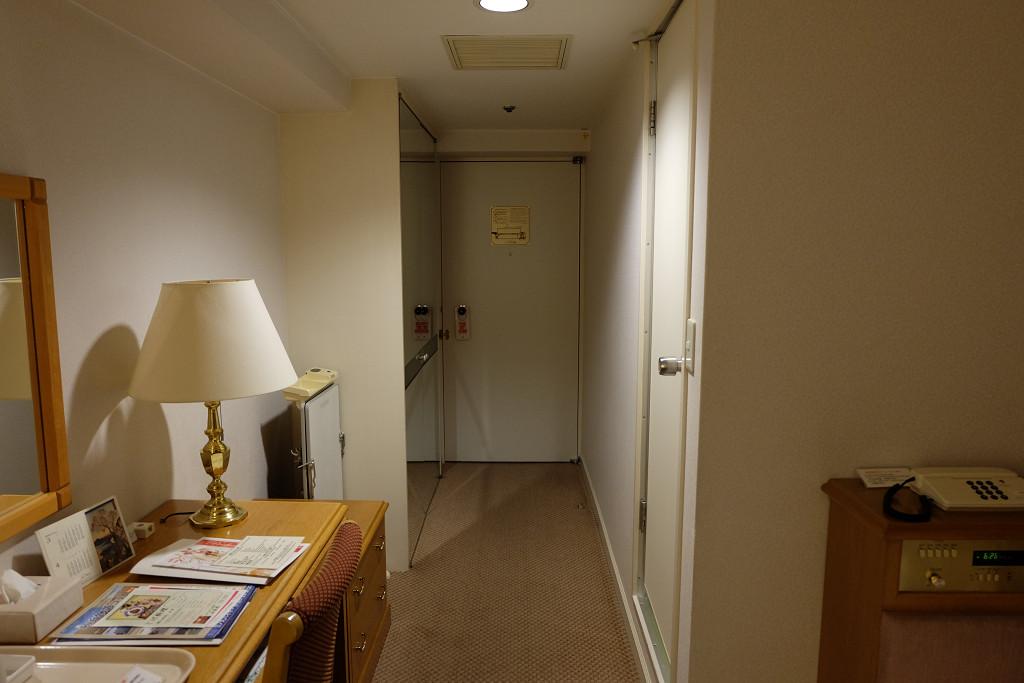 ホテルニューオータニ鳥取 シングル ドア側
