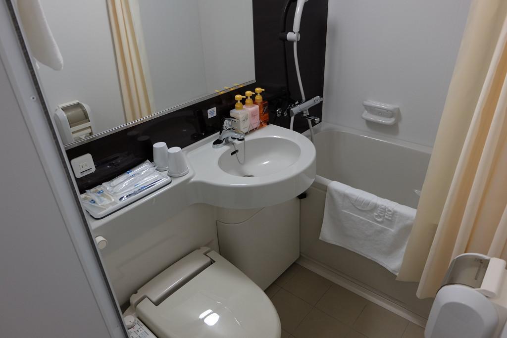 コンフォートホテル和歌山 ツインエコノミー バスルーム