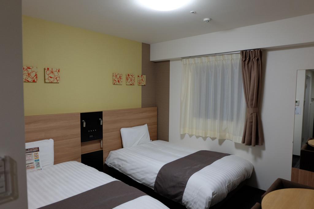 コンフォートホテル和歌山 ツインエコノミー 18平米(2015年12月)