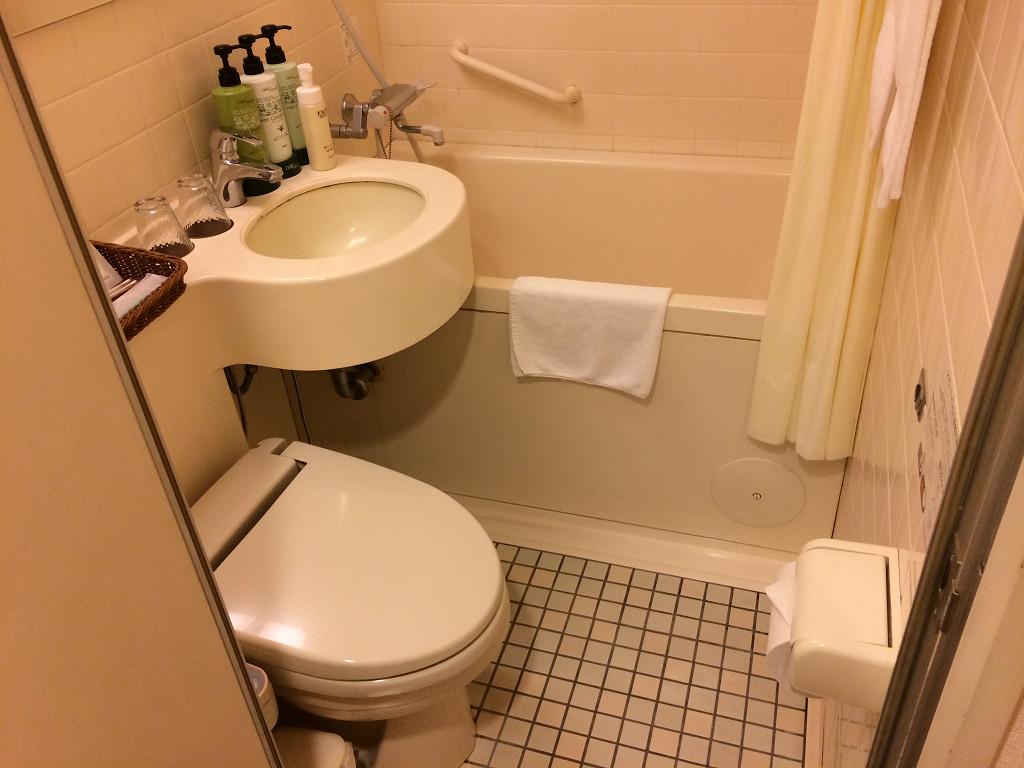 ネストホテル札幌駅前 スタンダードツイン バスルーム