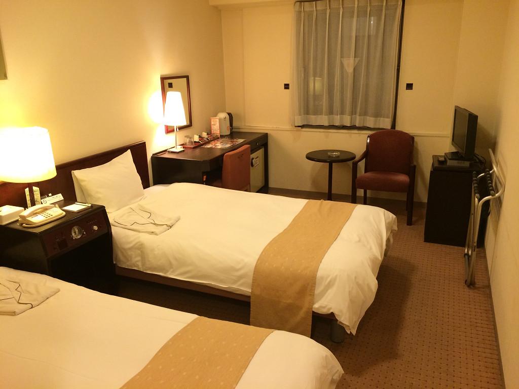 ネストホテル札幌駅前 スタンダードツイン 18.5平米(2014年9月)