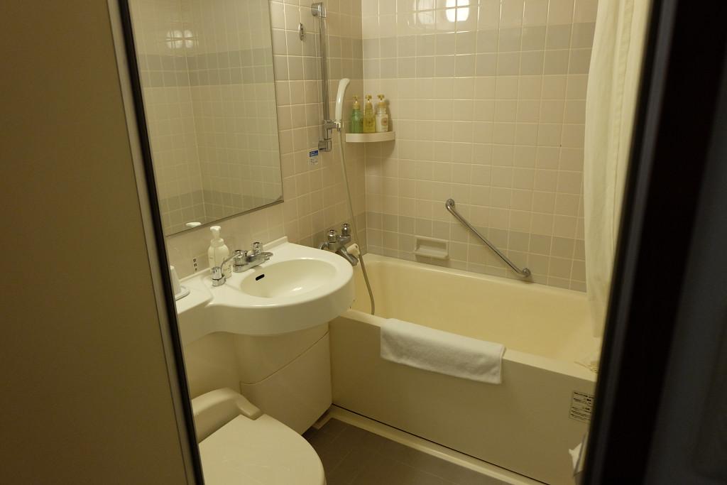 プレミアホテル-CABIN-旭川 ダブル バスルーム