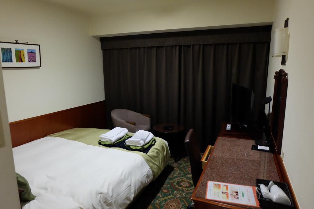 プレミアホテル-CABIN-旭川 ダブル 18平米(2016年10月)