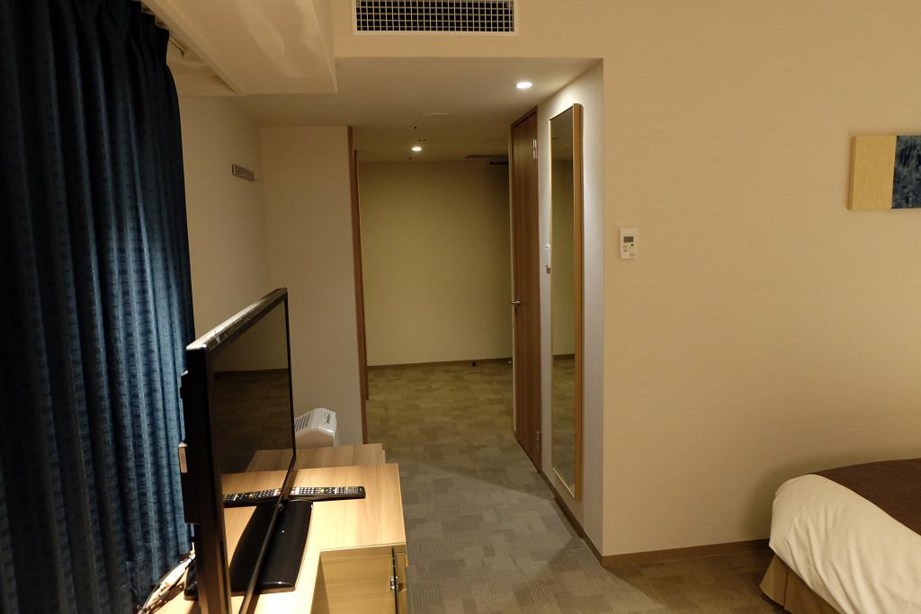ダイワロイネットホテル徳島駅前 コーナーツイン ドア側