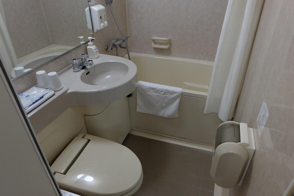 コンフォートホテル郡山 ツインスタンダード ツインルーム バス・トイレ
