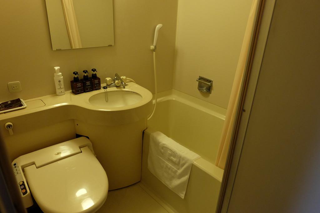 グリーンリッチホテル宮崎 シングルA バスルーム