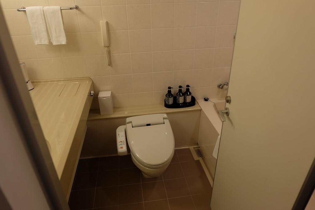 クインテッサホテル佐世保 ダブル バスルーム
