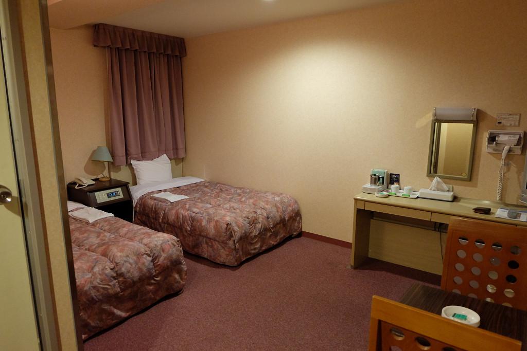 24平米(ビジネスホテル東宝イン高松 ツインルーム)