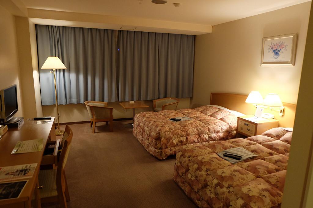 26平米(ホテル アド・イン鳴門 ツインルーム)