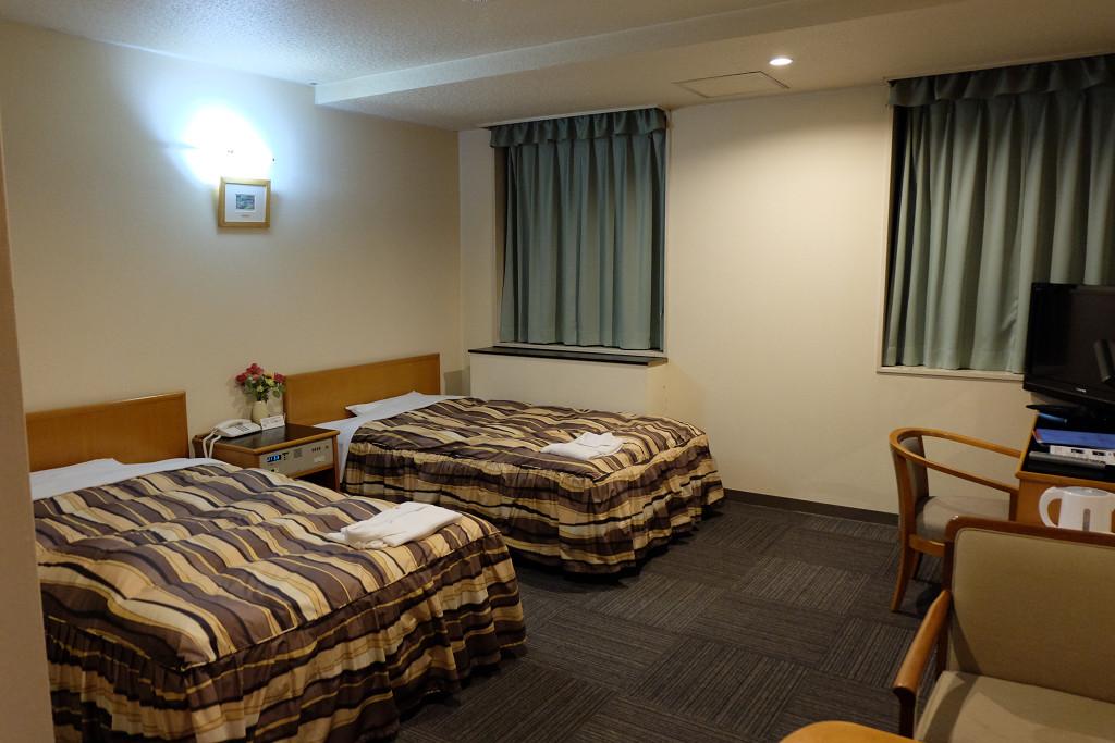 28平米(ターミナルホテル松山 ツインルーム)