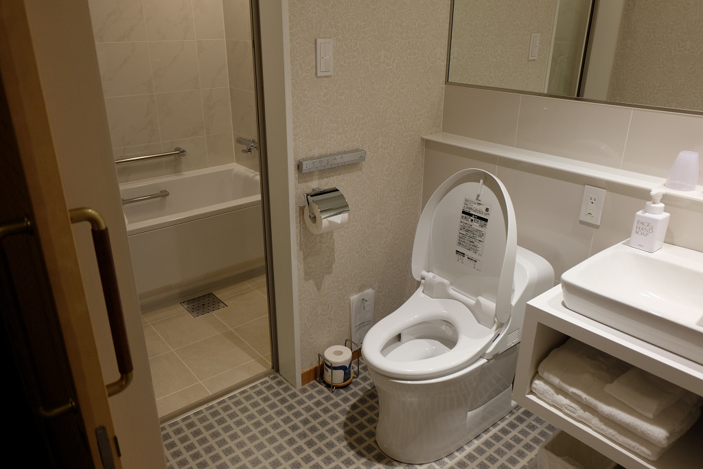 JR九州ホテルブラッサム大分 デラックスツイン バスルーム