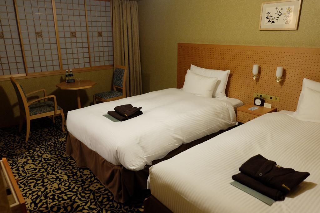 31平米(JR九州ホテルブラッサム大分 デラックスツイン)
