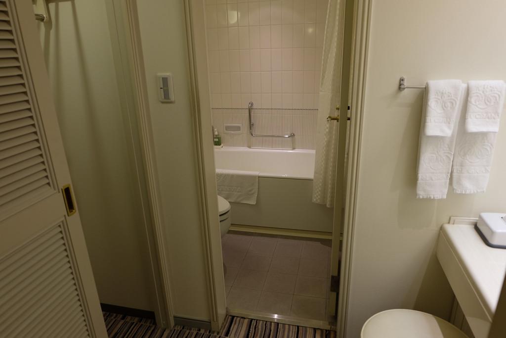 ホテルグランヴィア岡山 スタンダードダブル バスルーム