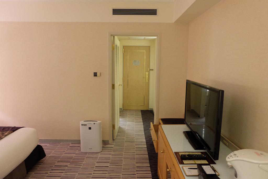 ホテルグランヴィア岡山 スタンダードダブル ドア側