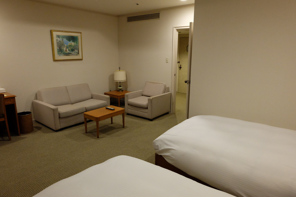 静岡カントリー浜岡コース&ホテル デラックスツイン ドア側