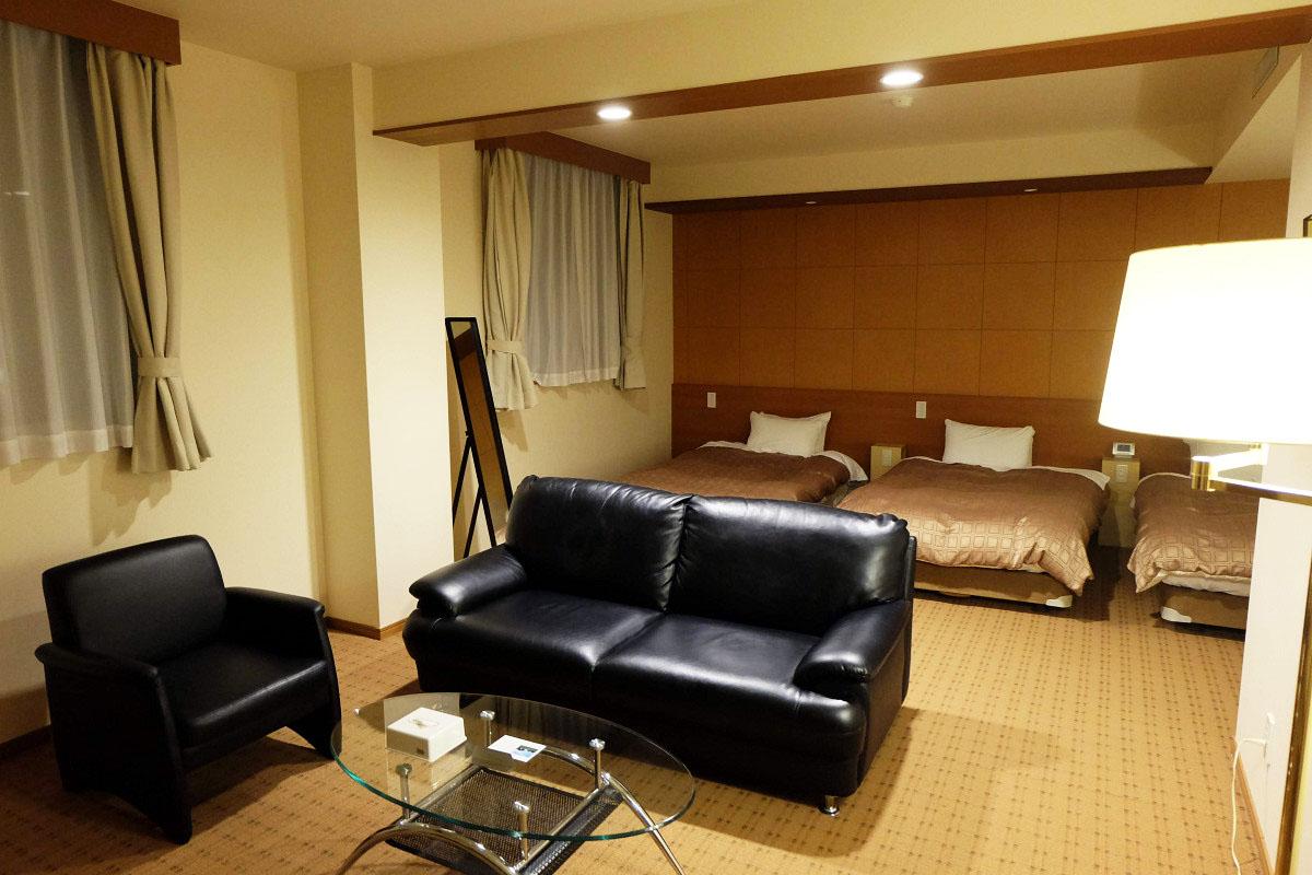 41平米 ダイヤモンドあずみ野温泉ホテル トリプル