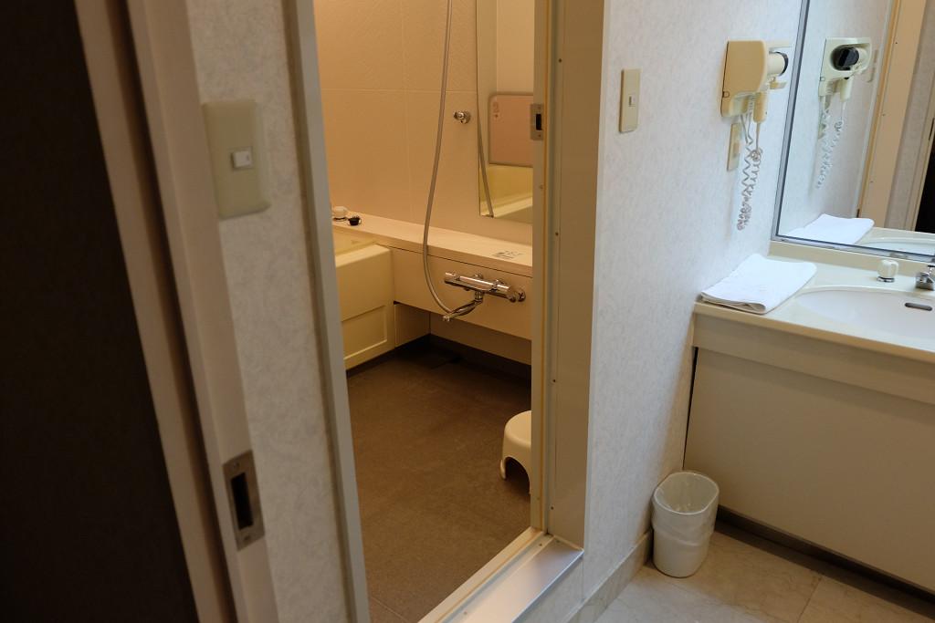 ホテル ベルフォート日向 スイートルーム バスルーム