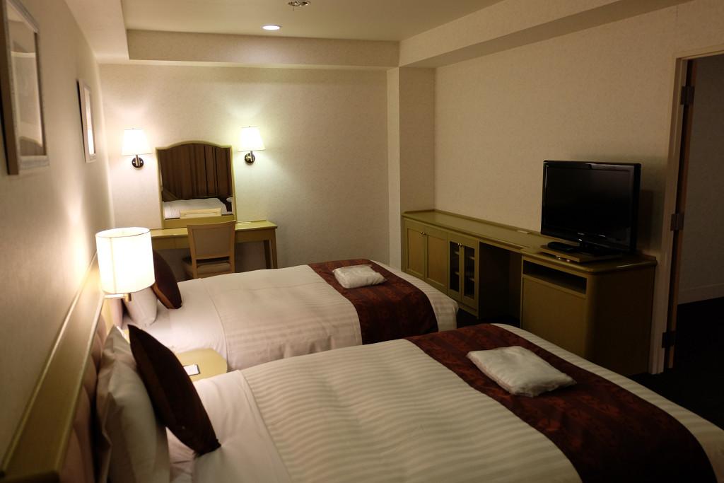ホテル ベルフォート日向 スイートルーム ベッドルーム