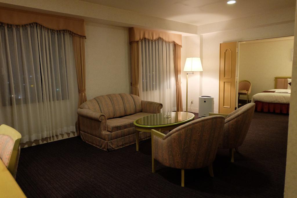 54平米(ホテル ベルフォート日向 スイートルーム)