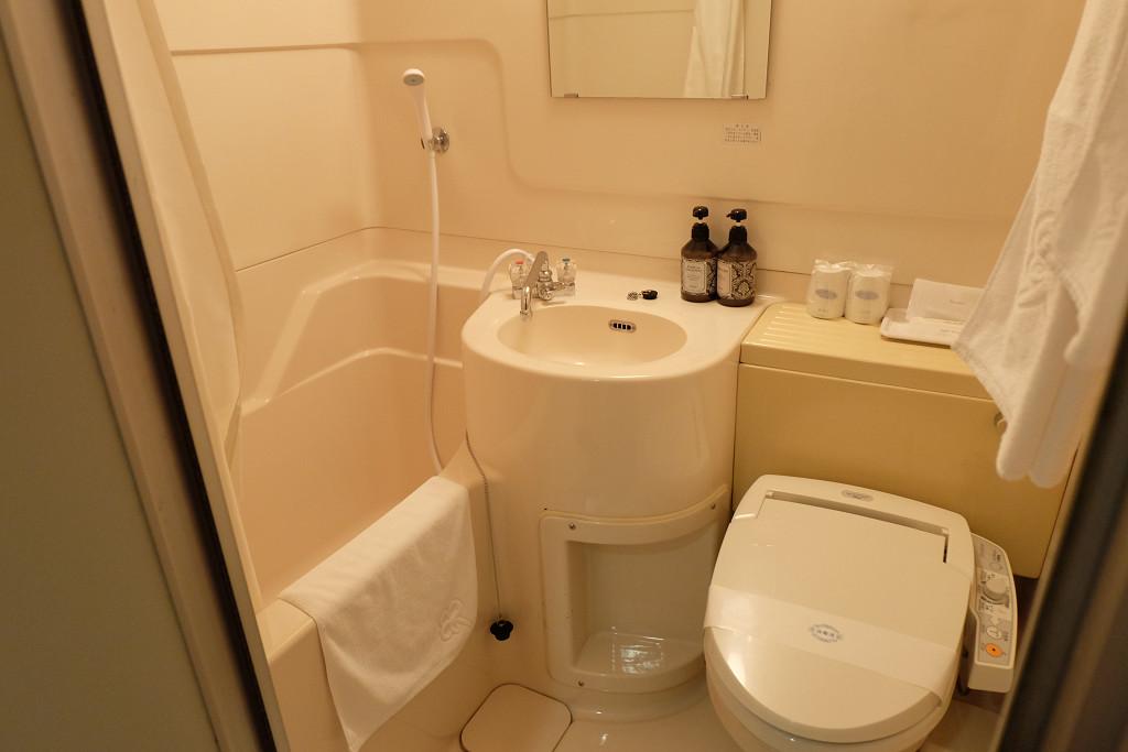 セントラルホテル鴨島 バスルーム