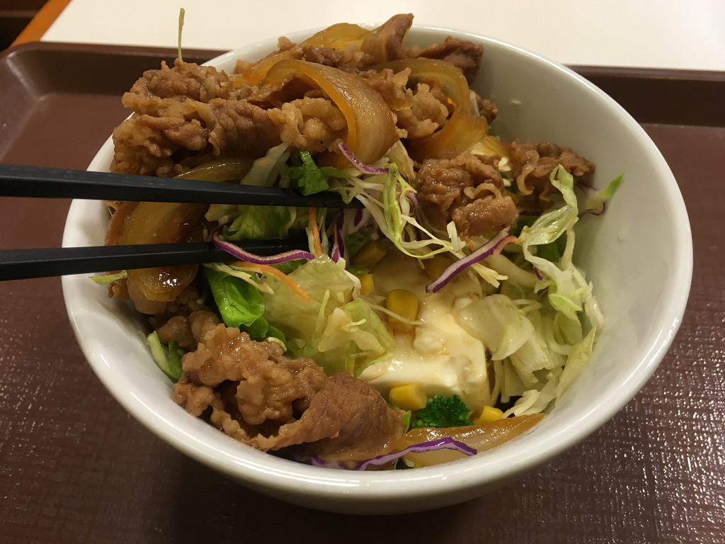 牛丼ライト(すき家)