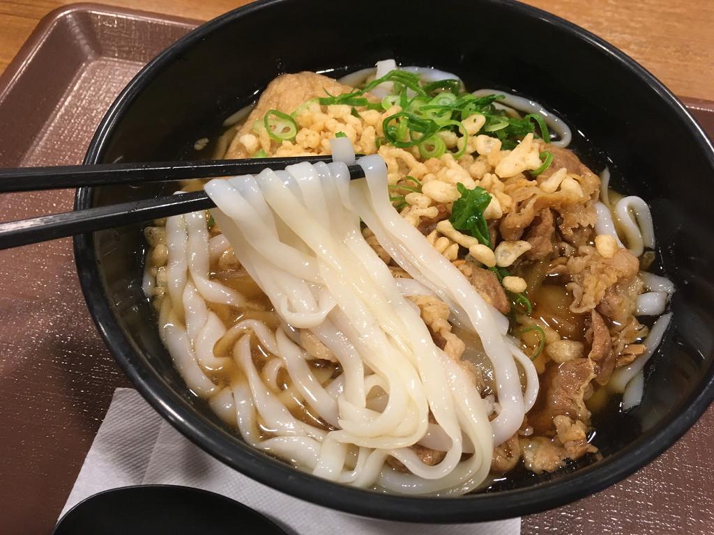 ロカボ牛麺(すき家)