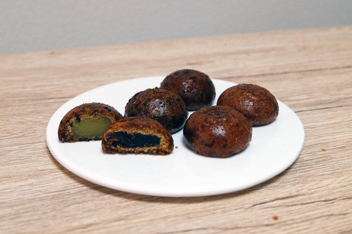 谷中福丸饅頭の「かりんとう饅頭」と「芋かりんとう饅頭」