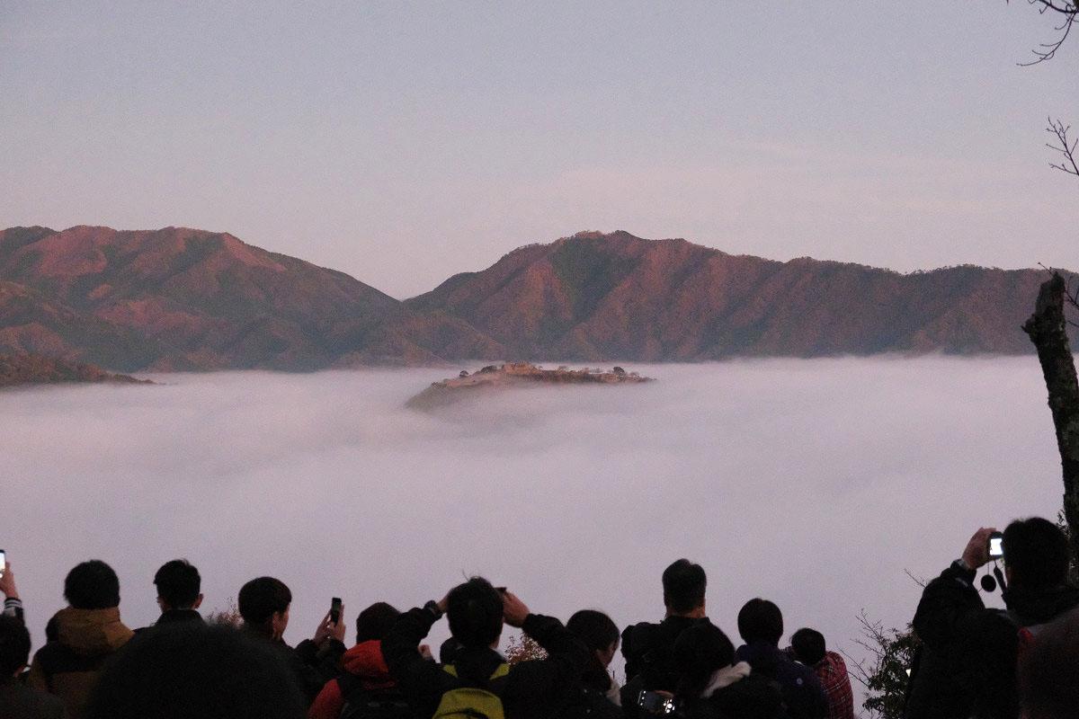 第一展望台からの竹田城