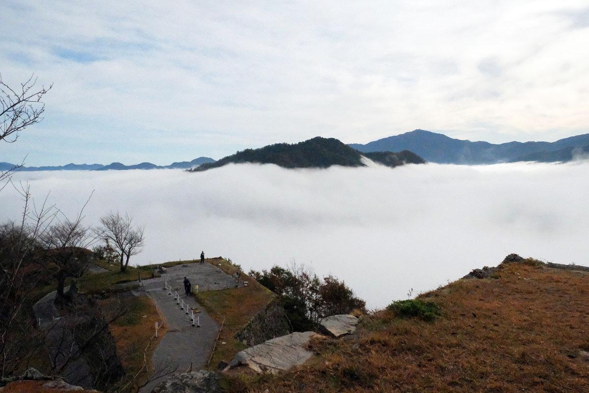 竹田城から見た雲海