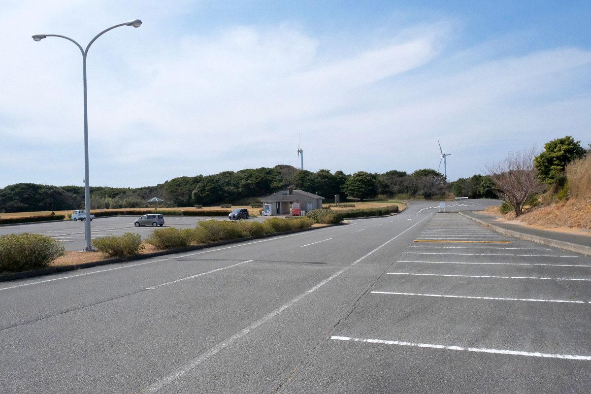 千畳敷の駐車場