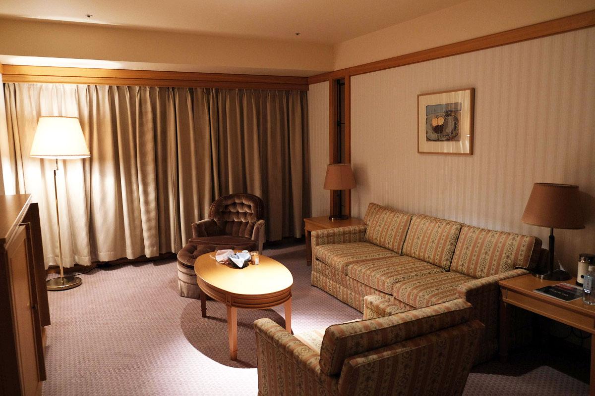 57平米 あいち健康の森プラザホテル スイートルーム