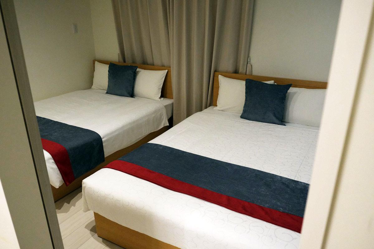 ベッドルーム(狭い部屋)