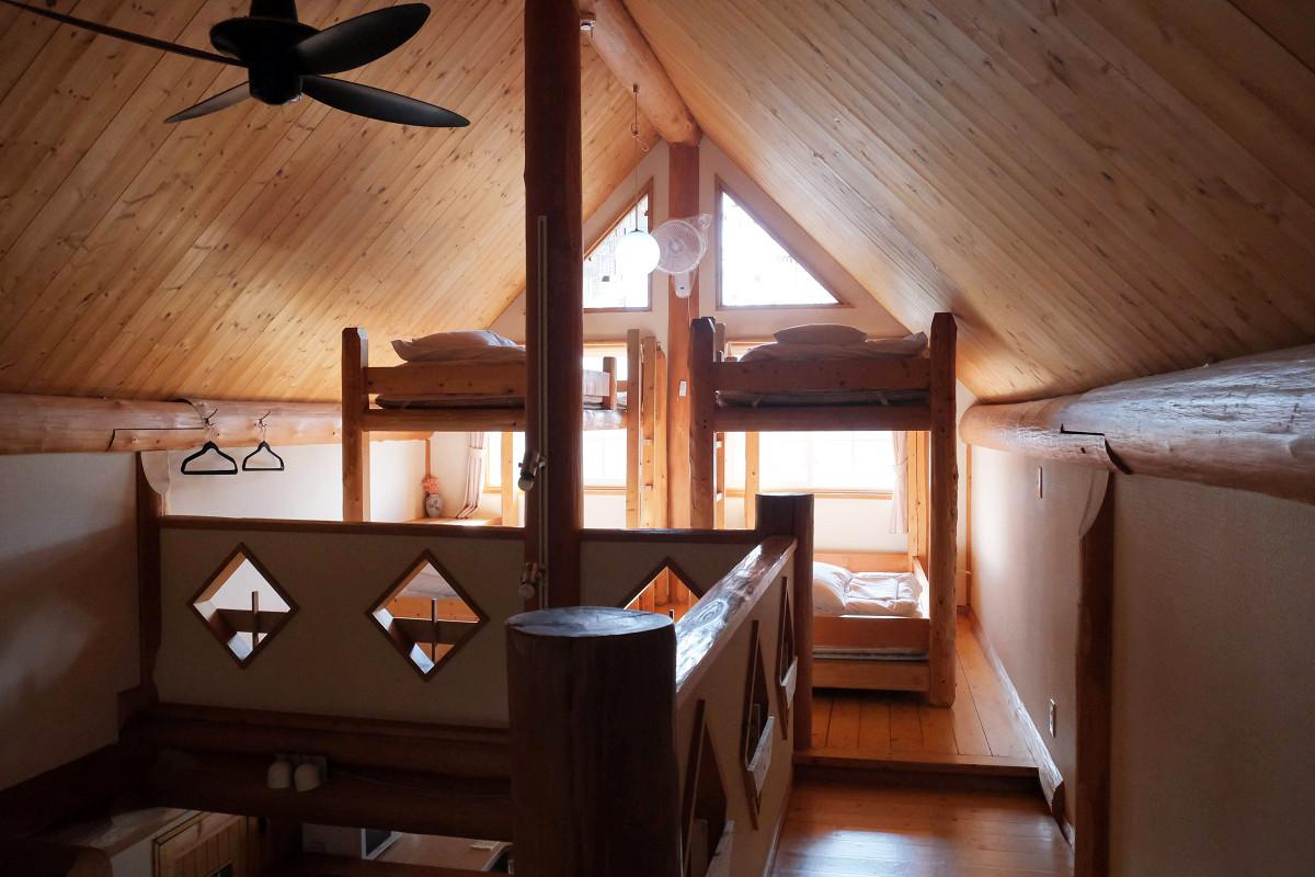 2階ベッドスペース