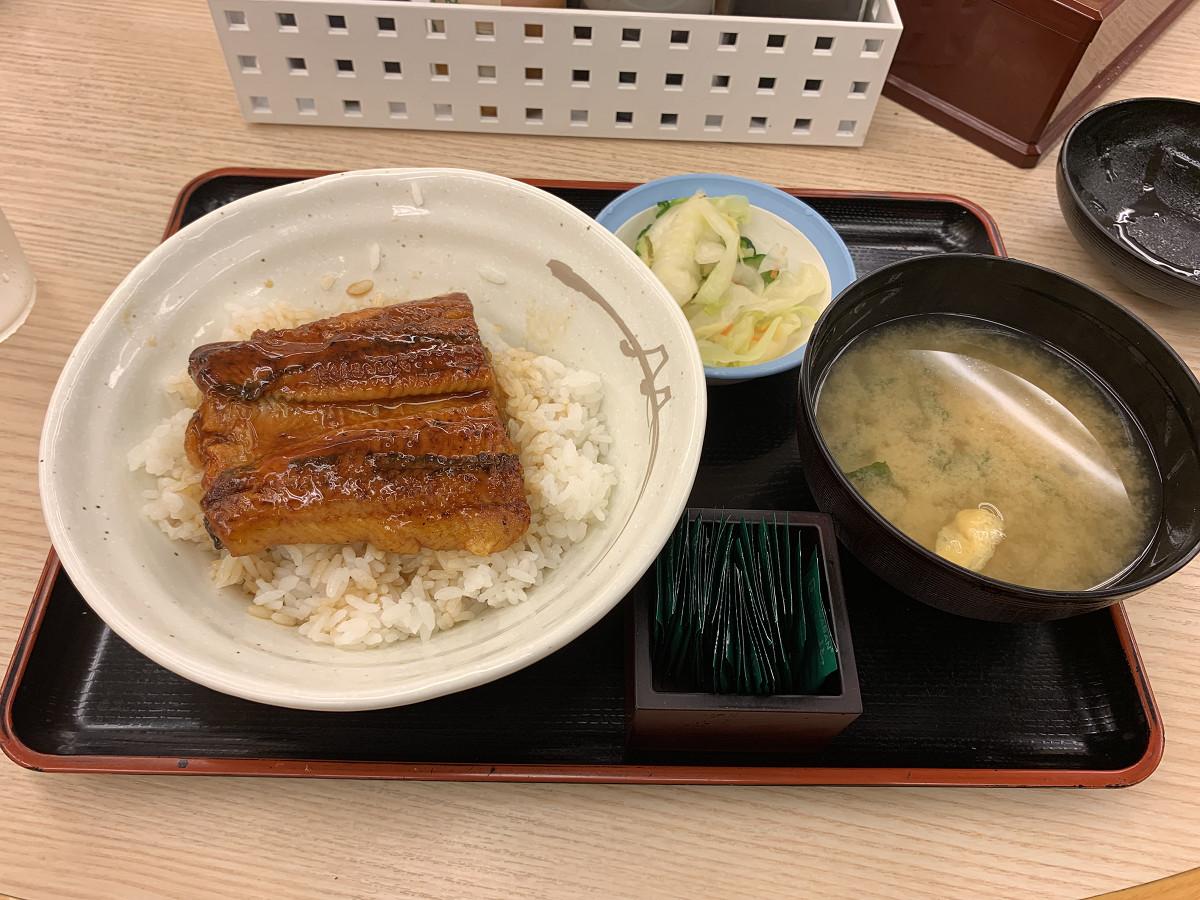 松屋「うな丼」