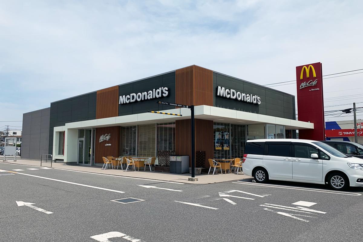 McCafe by Baristaの店舗(マクドナルド 181米子南店)