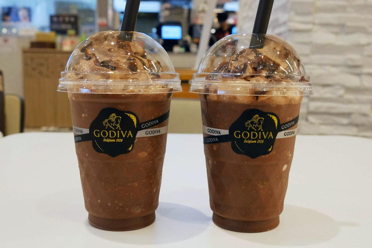 「ダークチョコレート72%」と「ダークチョコレート85%」