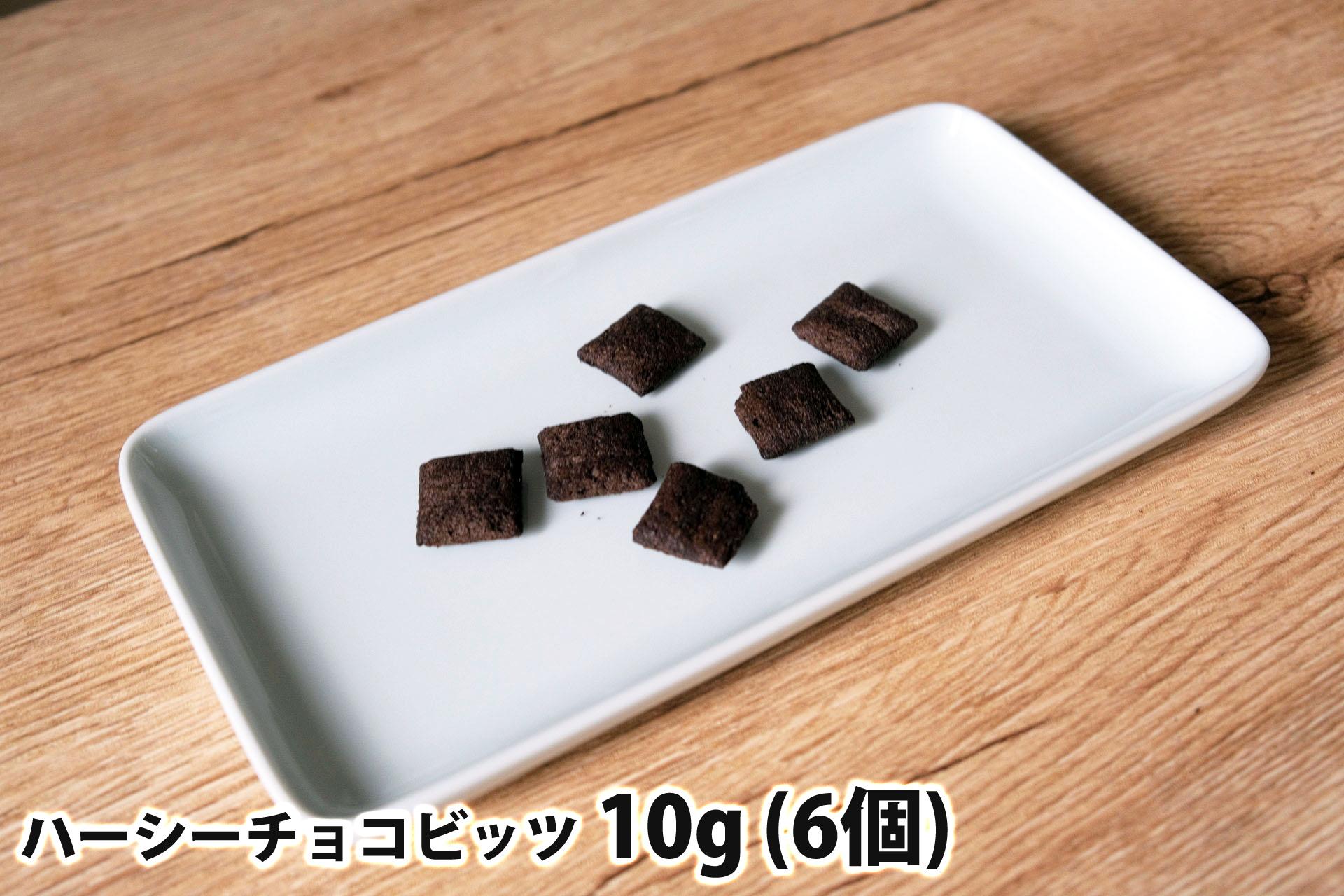 10gのハーシーチョコビッツ(6個)
